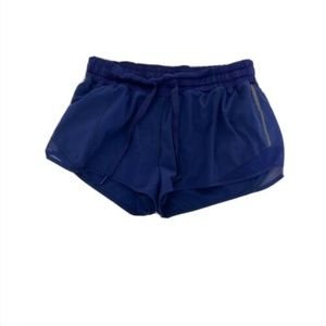 Lululemon Athletica Run Speed Shorts Athletic Blue